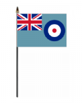 RAF Ensign Hand Flag - Small.